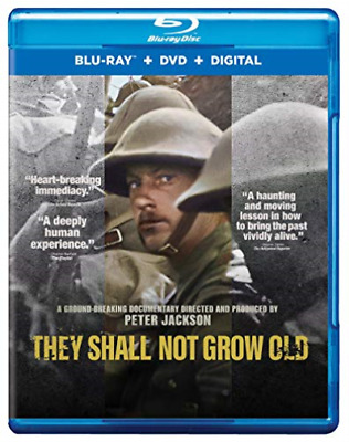 They Shall Not Grow Old (blu Ray + Dvd + Digital Combo Pack) Blu-Ray NEW