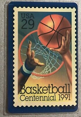 1994 USPS Basketball Stamp Phone Card