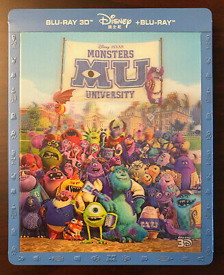 Monsters University [3D/2D] BLUFANS SteelBook with Lenticular Slipcover