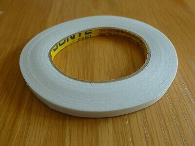 Double sided white florist/craft tape - 9mm