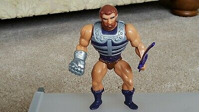 Vintage Masters of the Universe Fisto Action Figure with Weapon & Armour..