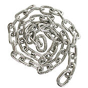 "5 feet 3/8"" 316L stainless steel anchor chain/"