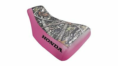 HONDA TRX450es Seat Cover  Fourtrax  Foreman in 7 CAMO PATTERNS ST