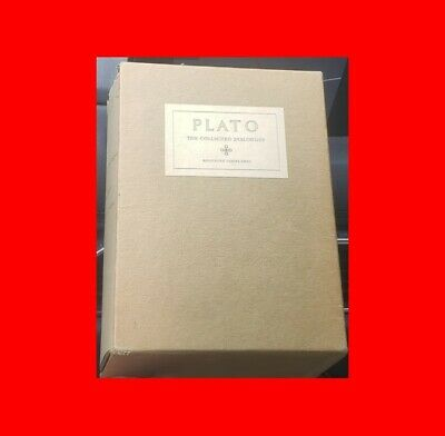 ☆Rare Plato The Collected Dialogues Including÷Letters 1963 Hamilton In Slipcase☆