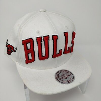 2660472413564f Mitchell & Ness Chicago Bulls Red Embroidered Snapback Cap The 1991 NBA  Finals