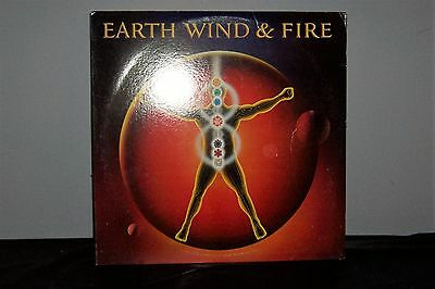 """EARTH WIND AND FIRE """"Powerlight"""" LP TC 38367 Columbia VG+"""