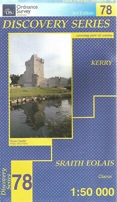 Ordnance Survey Of Ireland Discovery Series 78..Kerry...1997..