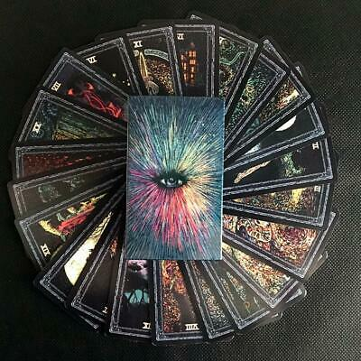 Full English Prisma Vision tarot deck 78 PCS Board game New