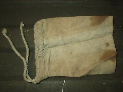 1.81-5 Authentic WWII WW2 M1 Garand Carbine 1911 Spare Parts Pouch Bag RARE