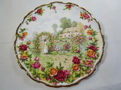 Royal Albert - Old Country Roses - Plate - 25th Anniversary