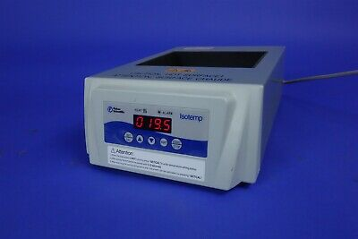 Fisher Isotemp Standard 2 block Dry Bath Incubator excellent working 88860022