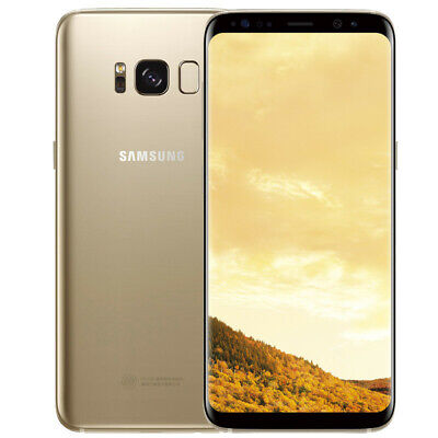 Sealed Samsung Galaxy S8 SM-G950U 64GB T-Mobile Unlocked GSM Android Smartphone