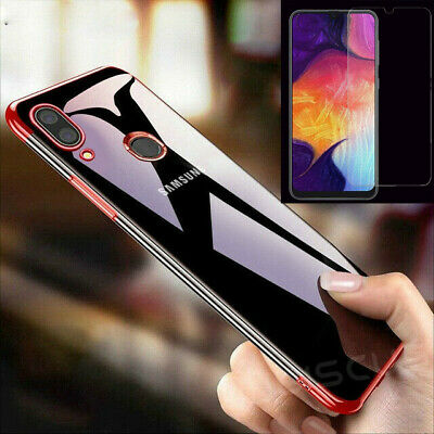 For Samsung Galaxy A20e 360° Full Cover Phone Shockproof Case + Tempered Glass