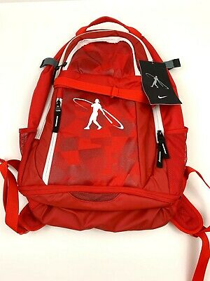 Unisex Nike Baseball Swingman 3.0 Backpack BA5226-648 Gym Red//White-Black NEW