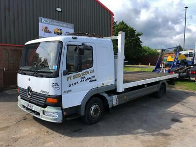 Mercedes Benz 815 Atego 4x2 7.5 Tonne Flatbed Lorry With 20Ft Long Body Year 200