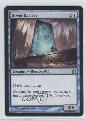 MTG Magic The Gathering LP Cond English 1x Hover Barrier Return To Ravnica Ed