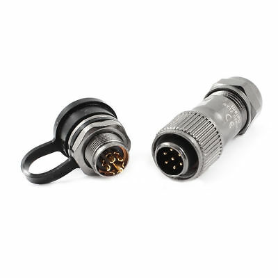 H● ST12-7 AC 125V 5A 7P Terminal Connecting AviationWaterproof Cable.