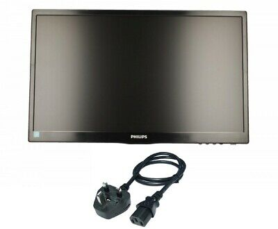 """Philips 22"""" Monitor  223V5LSB - LED monitor Widescreen Power Cable (NO STAND)"""