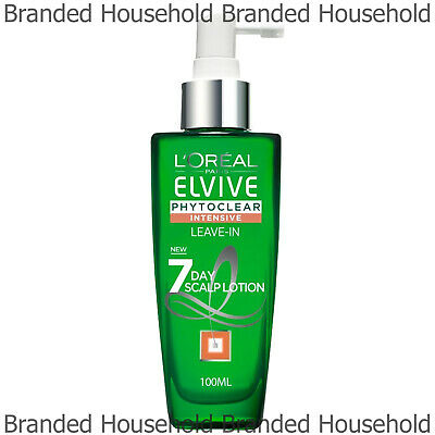 Loreal Elvive Phtoclear 7 Day Scalp Lotion Essential Oil Anti Dandruff 100Ml