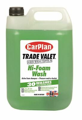 CarPlan Trade Hi Foam Wash 5 Litres Active Foam Car Shampoo Valeting