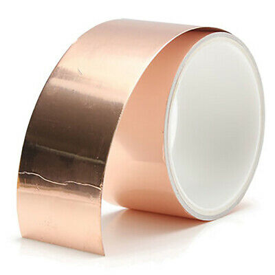 Copper Foil Shielding Tape Conductive Self Adhesive Barrier Humming For Guitar