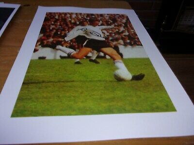 Autographed Magazine Picture Alan Durban   Derby County