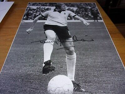 Autographed Magazine Picture Tommy Hutchinson Coventry City