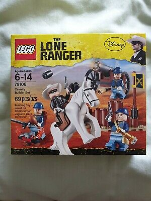Lego 79106 The Lone Ranger Cavalry Builder Set Disney New Sealed