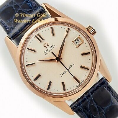 Omega Seamaster Cal.562, 18Ct Pink Gold, 1961 - Fully Restored And Immaculate!