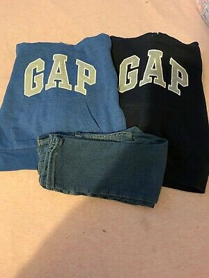 Gap 3yrs Slim Fit Boys Jeans And 2 Gap Hooded Jumper Great Condition