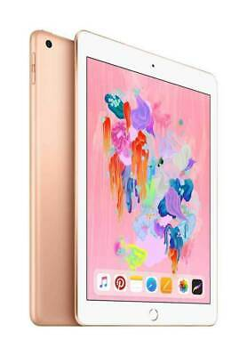 Apple iPad with WiFi, 32GB (Latest Model 6th) Gold BRAND NEW FACTORY SEALED