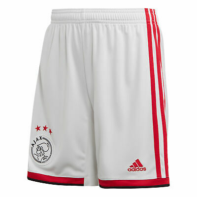 adidas Official Kids AFC Ajax Home Football Shorts Bottoms 2019-20