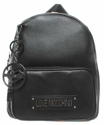 Zaino Donna LOVE MOSCHINO JC4130 Grain Pelle Nero