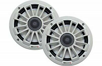 "MB Quart NK1-116 6.5"" 240 Watt Nautic Marine Coaxial Boat Speakers White - Pair"