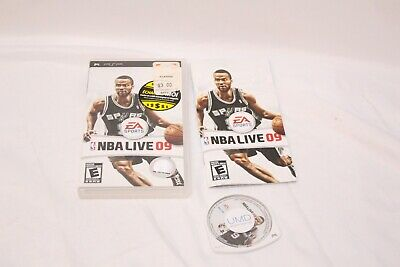 Sony PSP - NBA Live 09 - Complete
