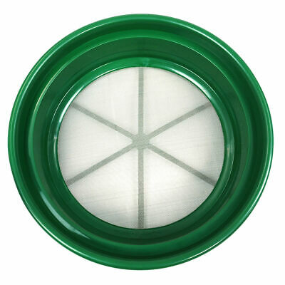 """Gold Sifting Pan Classifier 1/30 Mesh Size Green Plastic 13-1/4"""" NEW"""