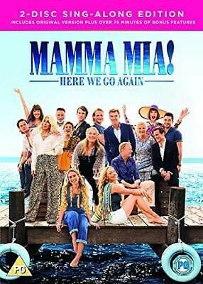 Mamma Mia! Here We Go Again  2-Disc Sing-Along Edition -BRAND NEW & SEALED-  drw