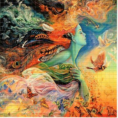 MOTHER NATURE BLOTTER ART perforated sheet paper psychedelic art