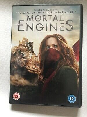 Mortal Engines DVD & Digital Download Mint Condition Prompt Free UK 🇬🇧 Post