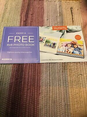 Shutterfly Coupon Codes For 8x8 Photo Book Exp.  8/31/19