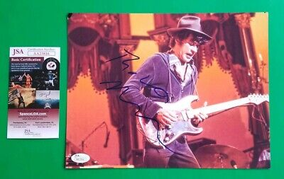 "Robbie Robertson Signed 8""X10"" Photo The Band Last Waltz Certified With Jsa Coa"