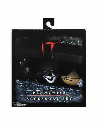NECA Toys - IT movie (2017) pennywise the clown Deluxe Accessory Set