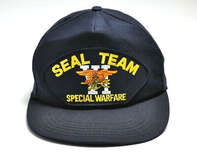 532ec770 Eagle Crest USA Made Hat with US NAVY SEAL TEAM VI Patch Ship Cap Team 6