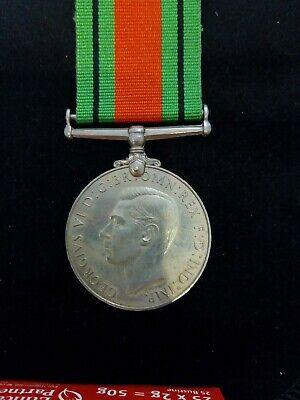 British Wwii 1939 - 1945 Defence Medal