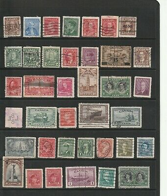 Canada - Early Stamp Selection  2 SCANS (2067)