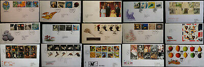 GB FDC 1999 - 2007 First Day Covers Commemorative Multiple Listing from £0.99p