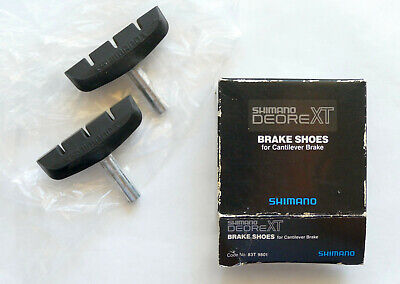 Shimano Deore XT Brake Shoes for Cantilever Brakes In Box Slighlty Used Japan