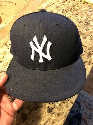 4fbb9d2137258c New York Yankees New Era 59Fifty 5950 Fitted Hat Cap 7 1/8 MLB Baseball