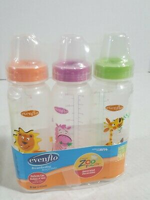 NIPPLES FOR VINTAGE EVENFLO GLASS BOTTLE BEST FOR BABY DOLL.FREE SHIP IN THE USA