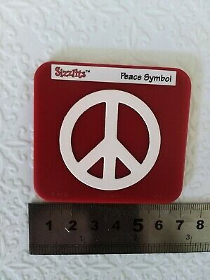 """Sizzix Die """"Peace Symbol"""" NEW Cuttlebug Compatible"""